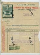DOHAN : Tabacs De La Semois 1927 -- TELLAH ( See Scan For Detail ) : Corbion S/ Semois - Non Classés
