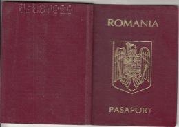 PASSPORT, PHOTO ID, CUSTOMS STAMPS, 1999, ROMANIA - Historische Documenten