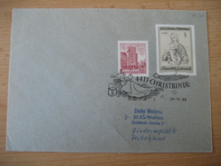 ÖSTERREICH  24.12.1969 Christkindlbeleg - 1945-.... 2ème République
