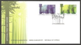 Cyprus - International Year Of Forests, FDC, 2011