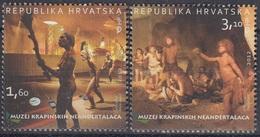 CROATIA 1062-1063,unused,Krapina