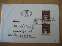 ÖSTERREICH  28.11.1969 FDC Christkindlbeleg - 1945-.... 2ème République