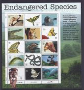 USA 32 Cent  Endangered Species - Blocs-feuillets