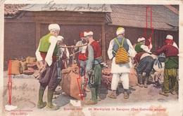 BOSNA I HERCEGOVINA, SARAJEVO - MARKTPLAZ 1904 K.u.K. MILITARPOST - Bosnia Erzegovina