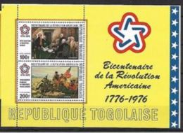 Togo 1976 Revolution US Thomas Jefferson