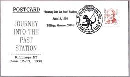 JOURNEY INTO THE PAST - T. REX - DIAMANTE - DIAMOND. Billings MT 1998 - Sellos