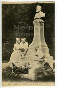 Monument à Jules Verne AMIENS 1928 Avec Timbre - Amiens