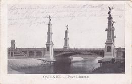 BELGIUM - OOSTENDE, PONT LEOPOLD, MARINE FELDPOST 1915