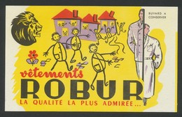Buvard - Vetements ROBUR - Buvards, Protège-cahiers Illustrés