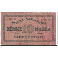 Estonia, 10 Marka, 1922, KM:53a, TB - Estonie