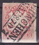 BAYERN 1874 Mi 15 USED - MUNCHEN