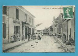 CPA Commerces Rue De La Paroisse ACHERES 78 - Acheres