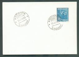 N°43C Sur FDC Obl. ENCAMP - 11837 - Lettres & Documents