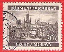 MiNr.61 O Deutschland Besetzungsausgaben II. Weltkrieg Böhmen Und Mähren