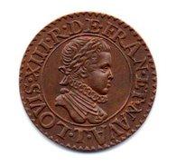 Double Tournois 1611 - Variétés Et Curiosités