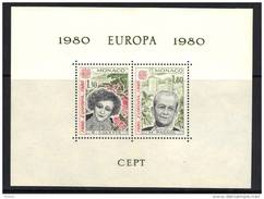 EUROPA, CEPT, MONACO, 1980, Bloc Spécial BS13, ** MNH. (713)