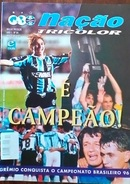 MAGAZINE GRÉMIO DE PORTO ALEGRE (BRÉSIL) 1996 TWICE BRAZILIAN CHAMPION - Livres, BD, Revues