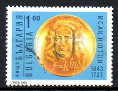 BULGARIE. N°3531 Oblitéré De 1993. Isaac Newton.