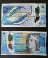 Banconota Scotland 5 Pounds Sterling 2016 UNC/FDS (polymer Banknote) - Scozia