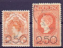 Niederlande Mi. 99-100 Gest. (€ 200,00) - Ansehen!! - Period 1891-1948 (Wilhelmina)