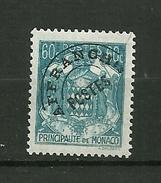 MONACO  1943   Prés-Oblitérés    N° 1    NEUF - Préoblitérés