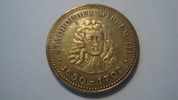 JETON PAYS BAS / STADHOUDER WILLEM III / 1650-1702 - Professionals/Firms