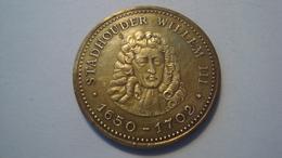 JETON PAYS BAS / STADHOUDER WILLEM III / 1650-1702 - Professionnels/De Société