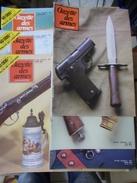 MILITARIA CIVIL REVUE LA GAZETTE DES ARMES PAR 6 NUMEROS ICI 113 AU 118 ANNEE 1983 Fusil Pistolet Armée Troupe Militaire - Francese