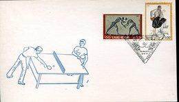 21930 Greece, Special Postmark 1973  Table Tennis,  Tischtennis,  Tennis De Table