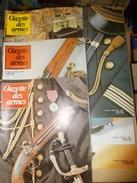 MILITARIA CIVIL REVUE LA GAZETTE DES ARMES PAR 6 NUMEROS ICI 101 AU 106 ANNEE 1982 Fusil Pistolet Armée Militaire - Francese