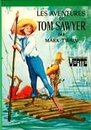 """Bibliothèque Verte - Mark Twain - """"Les Aventures De Tom Sawyer"""" - 1981 - Bibliotheque Verte"""