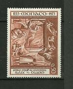 """MONACO 1973   N° 936 """" 750 ème Anniv.de La Crèche Par St.Francois D'Assise (Naissance De J.C Par Giotto) """"   NEUF - Monaco"""