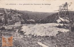 LE LIEGOUX (23) Vue Générale Des Travaux Du Barrage Du Chavanon - Other Municipalities