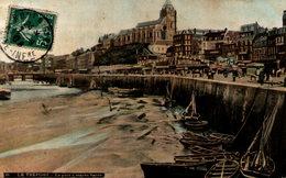 LE TREPORT - Le Port à Marée Basse - Le Treport