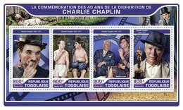 Togo 2017, Cinema, Charlie Chaplin, Dogs, 4val In BF
