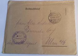 562 FRANCHIGIA MILITARE - FELDPOSTBRIEF WWI  15/10/15 - Deutschland