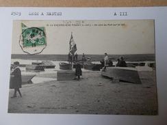 44 LOIRE ATLANTIQUE CONVOYEUR De LIGNE 2509 LEGE NANTES Aller III  Cpa La Chevroliere Passay Coin Du Port Lac 1916 - Francia