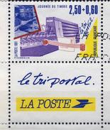 2689 Journée Du Timbre Avec Vignette  OBLITERE ANNEE 1991 - Frankreich