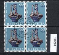 Schweiz PP 1975 Zst. 169 / Mi. 1056 Viererblock Ersttagsstempel