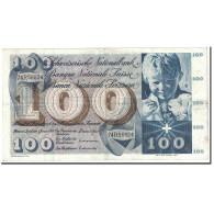 Suisse, 100 Franken, 1970, KM:49l, 1970-01-05, TTB+ - Suiza