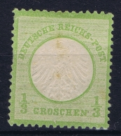 Deutsche Reich: Mi Nr 2 MH/* Falz/ Charniere Signiert /signed/ Signé   Spots - Ungebraucht