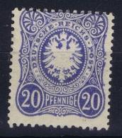 Deutsche Reich: Mi Nr 34 MH/* Falz/ Charniere 1875 - Deutschland
