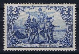 Deutsche Reich: Mi Nr 79 A   Postfrisch/neuf Sans Charniere /MNH/** 1902  Gum Left Top  Irregular Light Fold