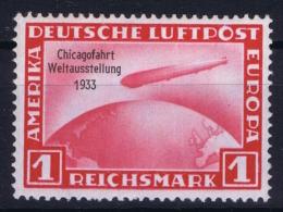 Deutsche Reich:  Mi Nr 496 Mit Fotoattest Schlegel BPP  MH/* Falz/ Charniere - Luftpost