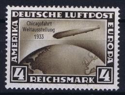 Deutsche Reich:  Mi Nr 498   MH/* Falz/ Charniere - Luftpost