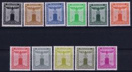 Deutsche Reich:  Mi Nr 144 - 154   Postfrisch/MNH/**  1938
