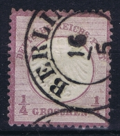 Deutsche Reich:  Mi Nr 1  Gestempelt/used/obl. - Germany