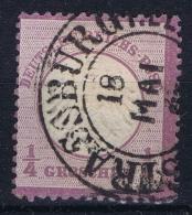 Deutsche Reich:  Mi Nr 1  Gestempelt/used/obl. - Gebruikt