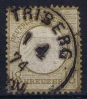 Deutsche Reich:  Mi Nr 11 Gestempelt/used/obl. TRIBERG - Germania