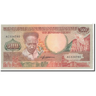 Surinam, 500 Gulden, 1988, 1988-01-09, KM:135b, NEUF - Surinam